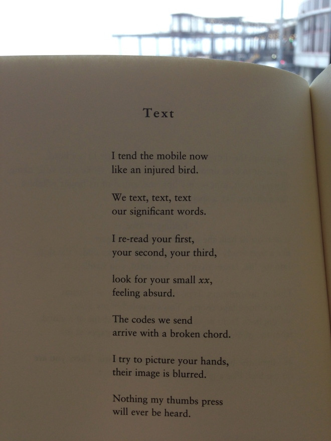 Tea. Carol Ann Duffy. Read Boston, June 2013
