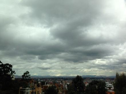 clouds weather sky photography Bogotá Colombia