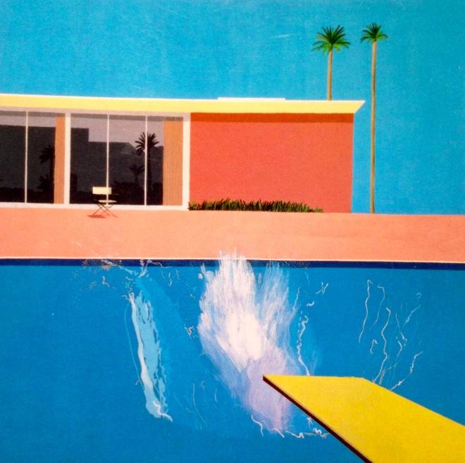 A Bigger Splash, David Hockney, Art, Book, Modern Painting