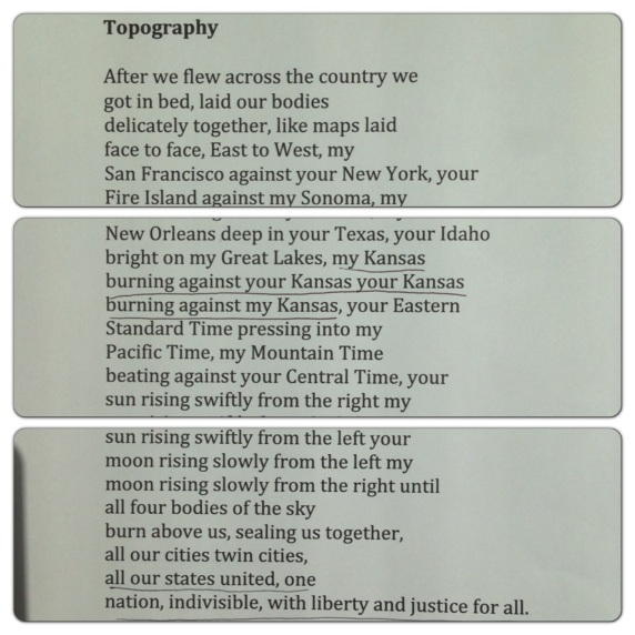 Topography Sharon Olds Poetry Writing Reading Books Literature