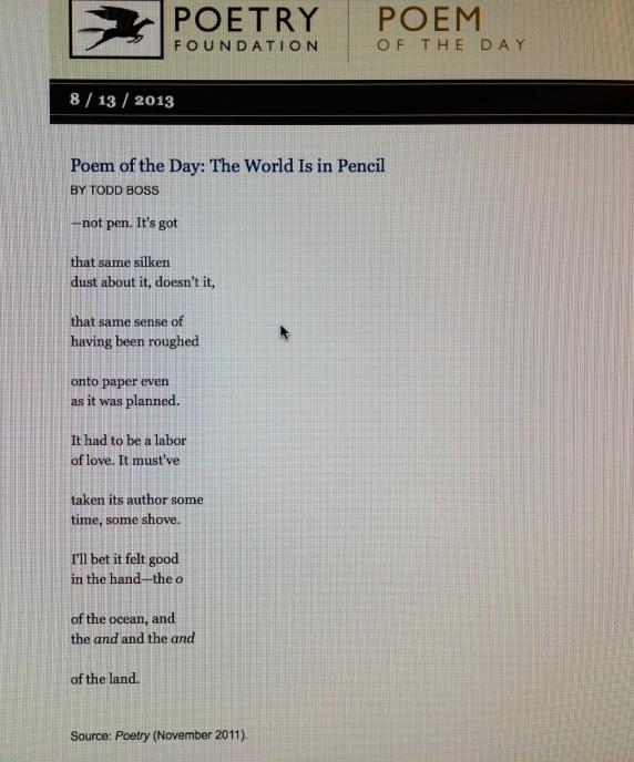 Todd Boss Poetry Writing Literature Books