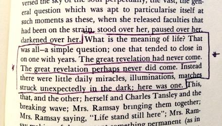 Virginia Woolf lit literature books