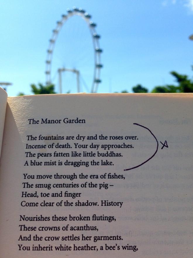 Plath Poetry Singapore