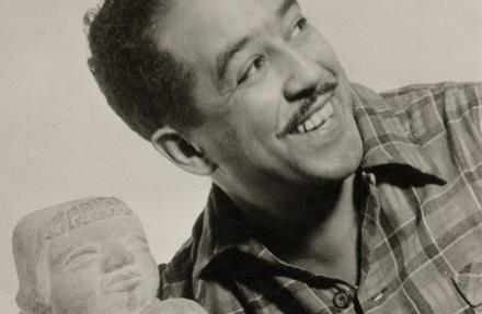 Langston Hughes poetry writing