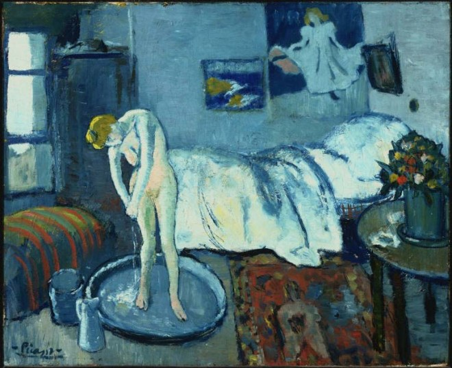Picasso's The Blue Room
