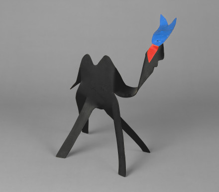 "Calder's ""Black Camel with Blue Head and Red Tongue"" from The National Gallery"