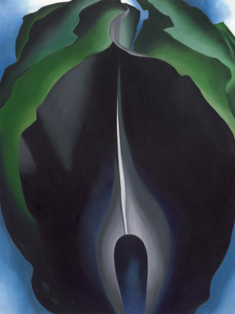 "O'Keeffe's ""Jack in the Pulpit"""